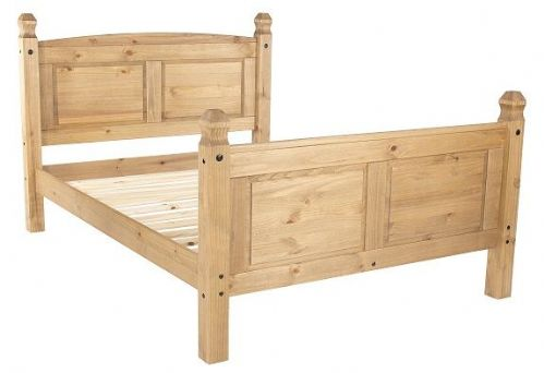 "New Mexican 4'6"" High End Bedstead"